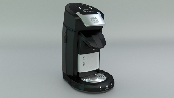3d philips senseo coffee machine