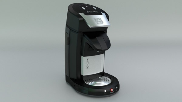 3d philips senseo coffee machine