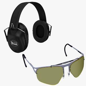 shooting ears eyes protectors max