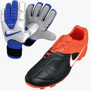 maya nike soccer shoes gloves