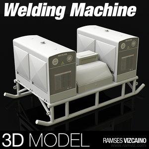 3d welding machine model
