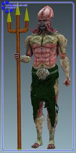 human figure 3ds