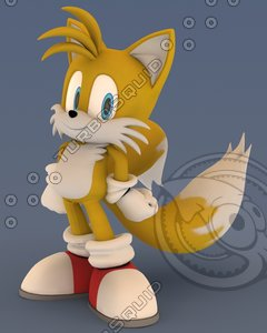 3ds max avatar tails sonic