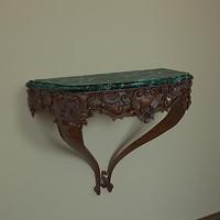3d Baroque console Louis 15
