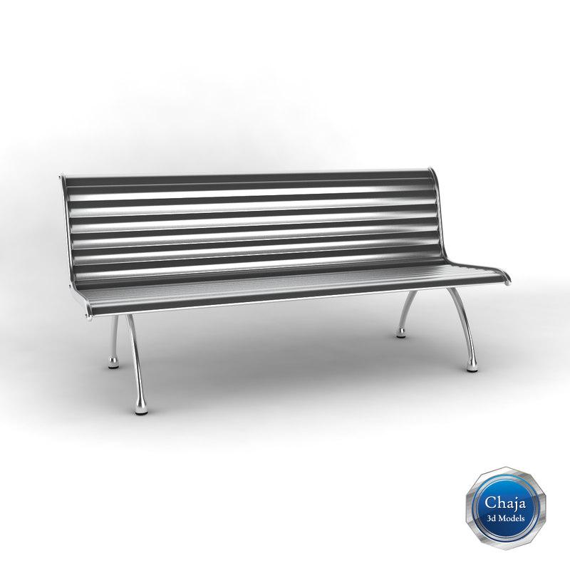 3dsmax bench h