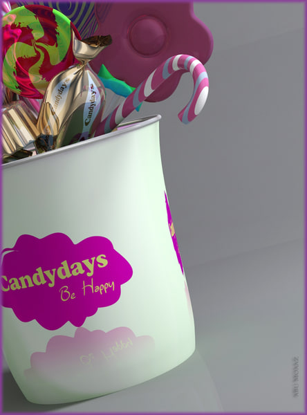 candy present confectionary 3d model
