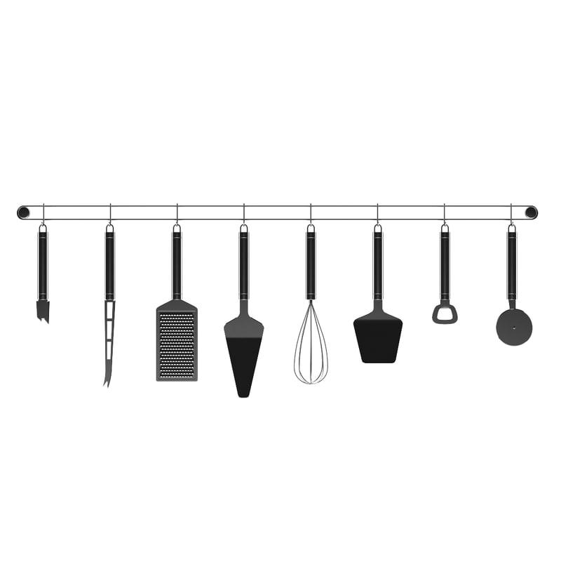 3d model utensils