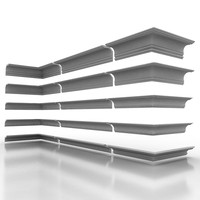 decorate cornice 3d model