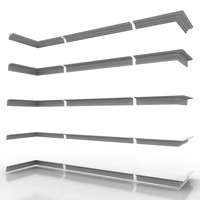 3d decorate cornice