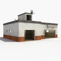 cottage house home 3d max