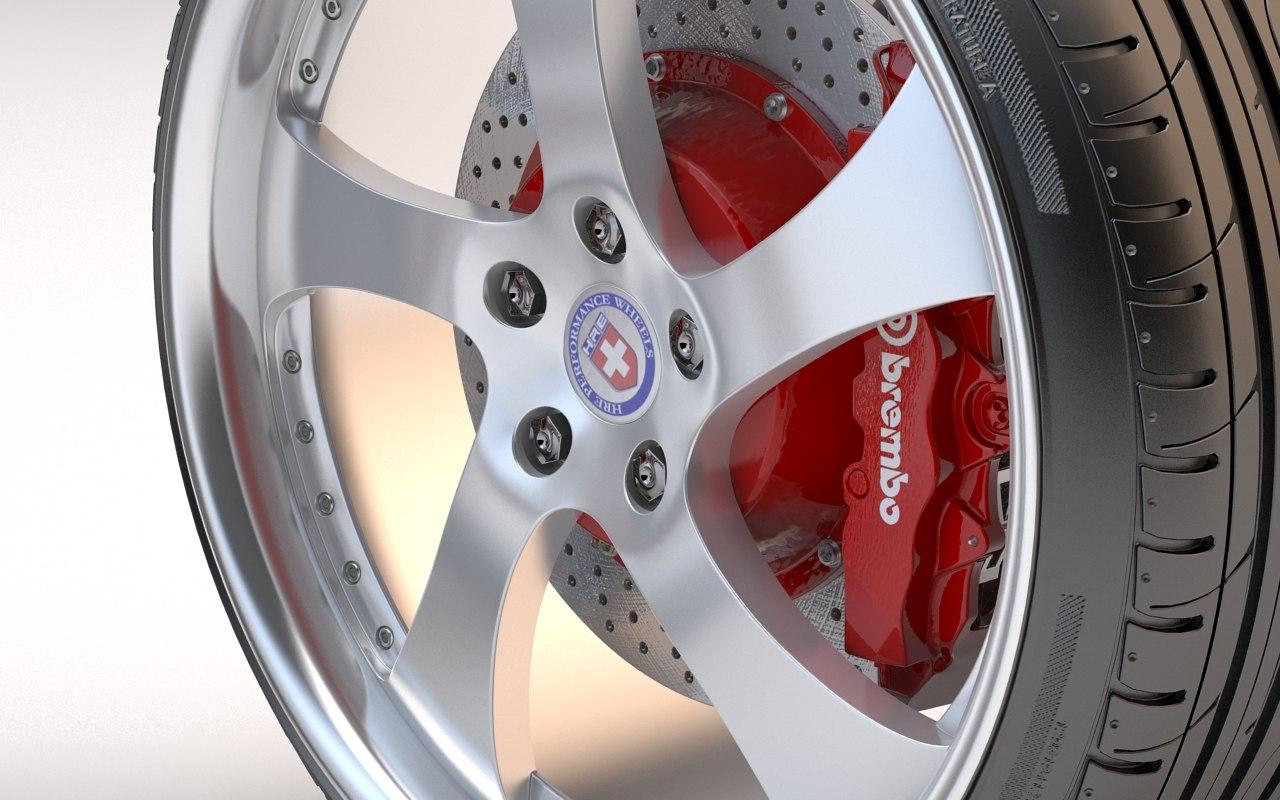 hre 792rb sport 3d model