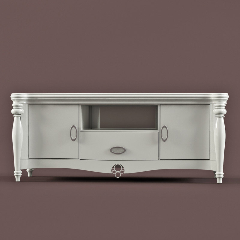 Tv cabinet dekorosso mobili 3d model for Mobili 3d dwg