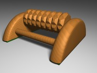 c4d massager wood