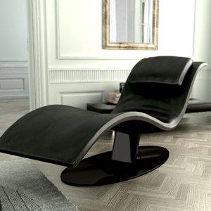 3d model armchair seat