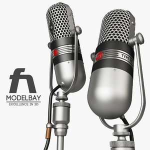 3ds max rca 77-dx microphone