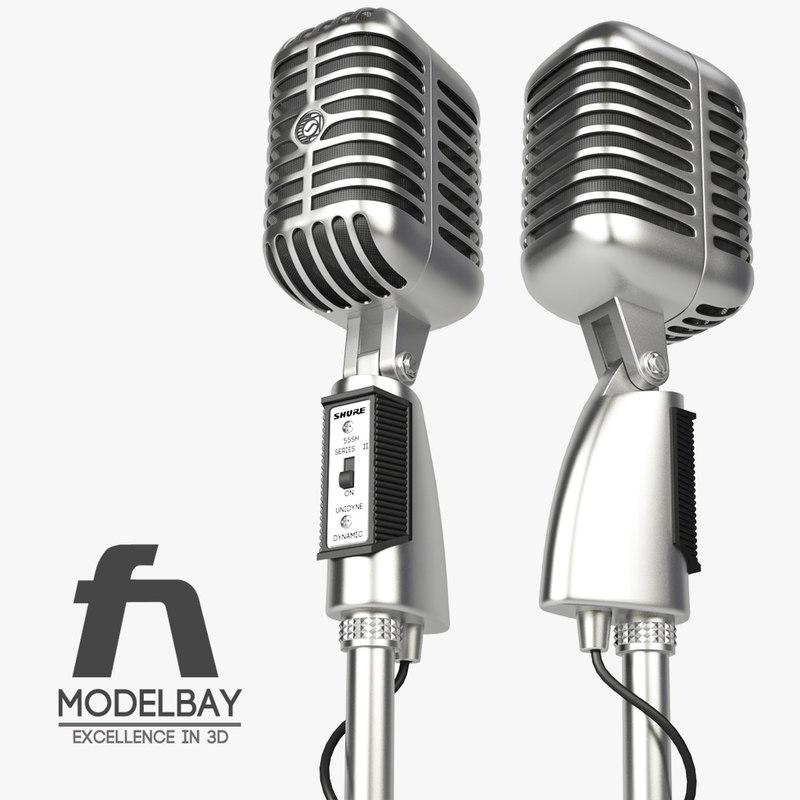 max shure 55sh microphone