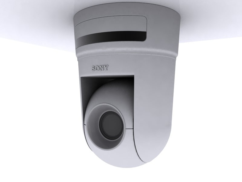 3ds max sony security camera cam