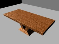 Simple Table - Wood