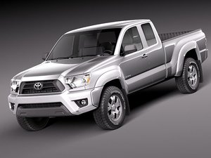 3d model toyota tacoma access acces