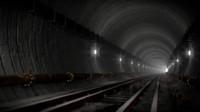 underground metro obj free