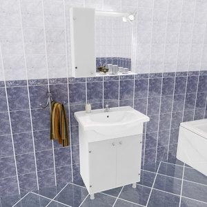 em bathroom set 3d max