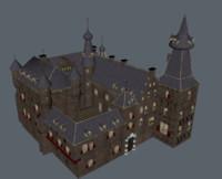 3d model kasteel doorwerth