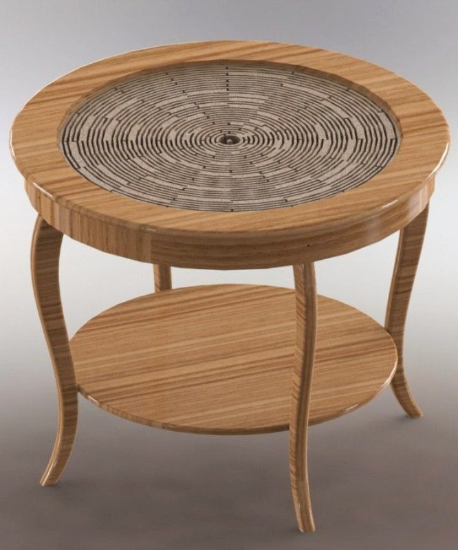 3ds max table labyrinth