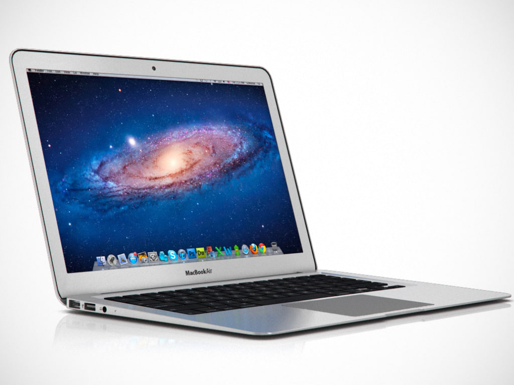 3d 13 inch macbook air model