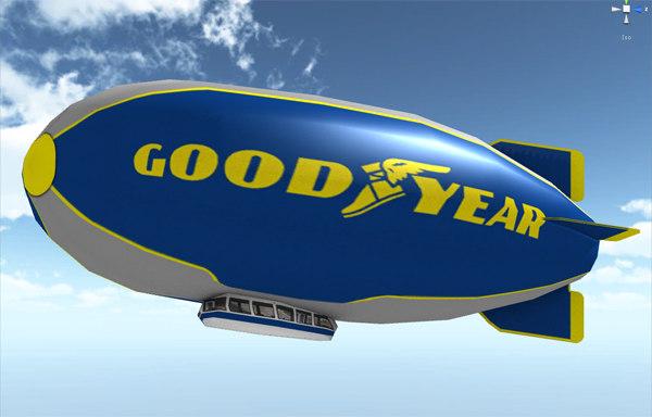 3d goodyear vehicle