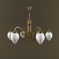 chandelier berliner 3d max