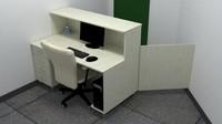 3d max office desk
