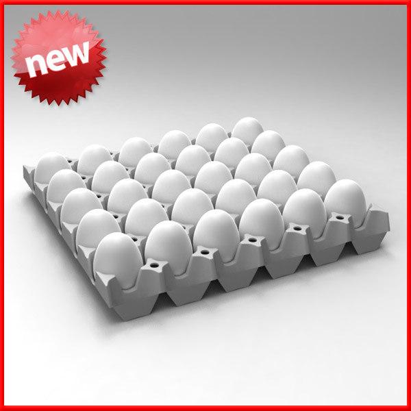 egg tray 3d max