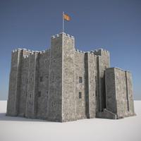 3dsmax medieval castle 2