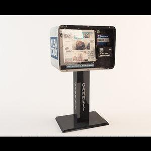 newspaper dispenser news max