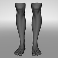 Realistic Human Legs