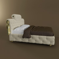 bed paolo lucchetta 3d model