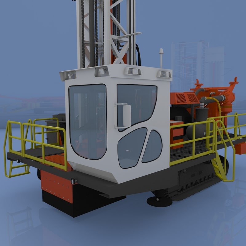 drilling machine rigged lw