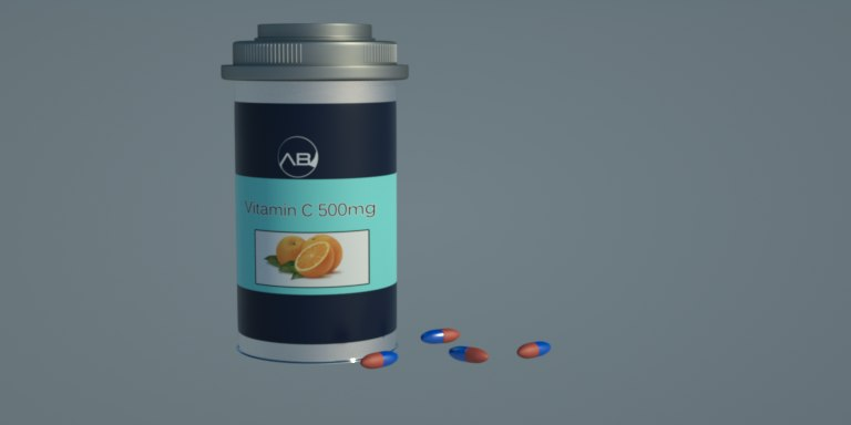 pill box 3d model