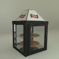 Pizza Case Diplay