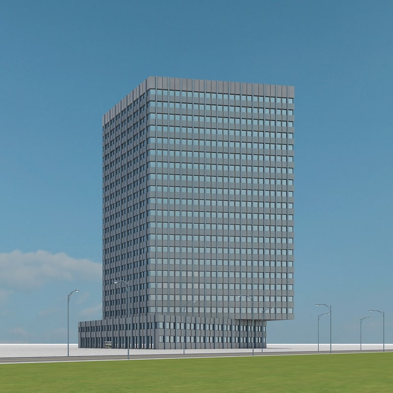3ds max new skyscraper 45