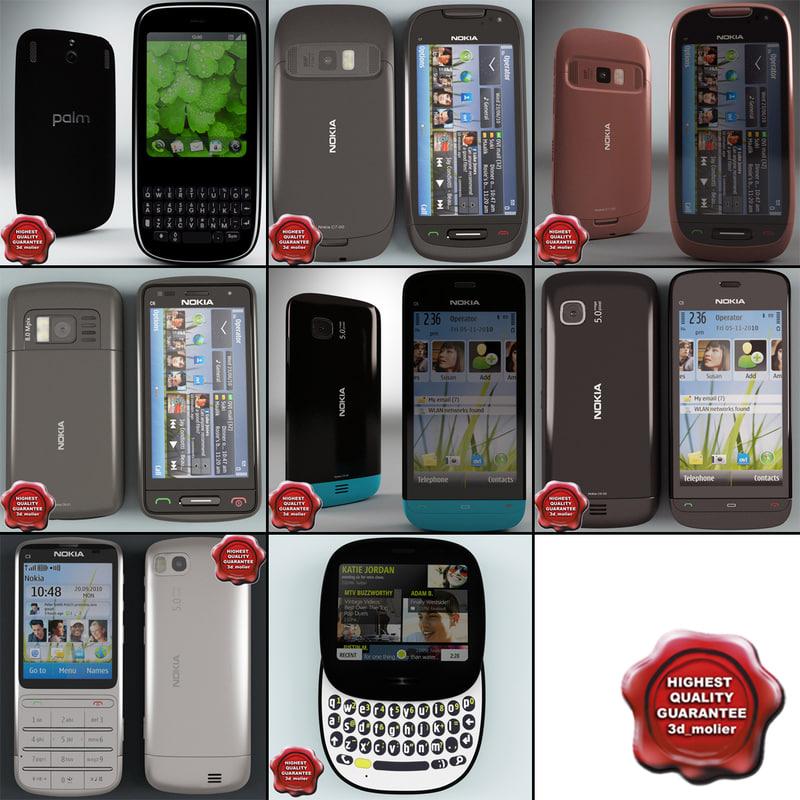 3d model of cellphones 57
