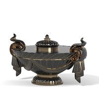 antique vase decor 3ds