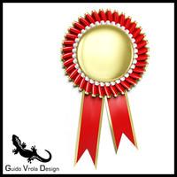 3d model award rosette