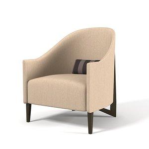 3ds max gary hutton thomas chair