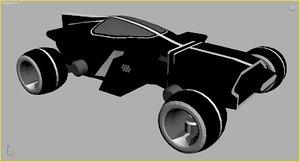 3d model tron light runner
