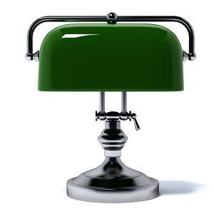 lamp bankers eichholtz 3d model