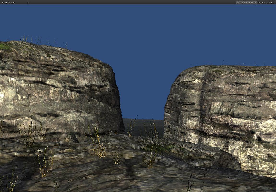 limestone outcrops 3d x