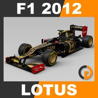 F1 2012 Lotus E20 - Lotus F1 Team