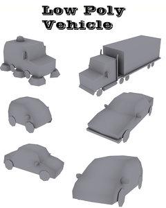vehicle s 3d max