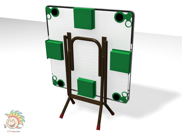 design mahjong table 3d max